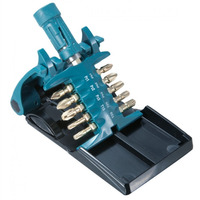 Kit de Bits de Torção com Porta Bit Ultra Magnetizados 11 peças - B-30754 - Makita