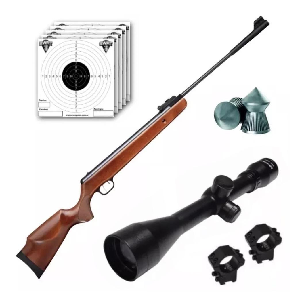 Rifle Aire Comprimido Fox Gs1250 Nitro 1105 Fps + Mira 4x40