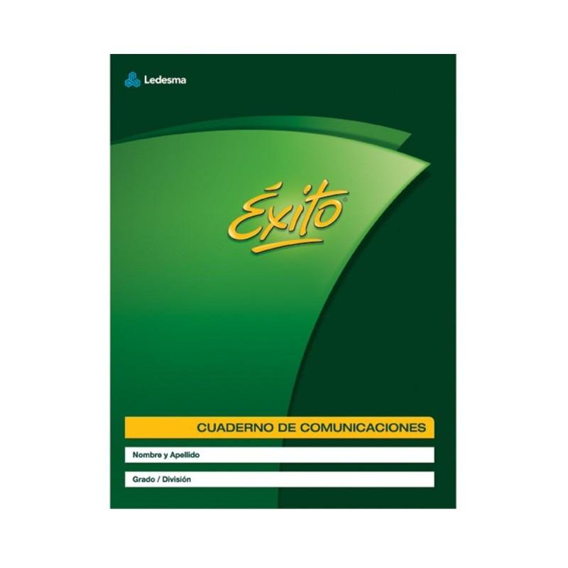CUADERNO DE COMUNICACIONES ÉXITO X 24 HOJAS