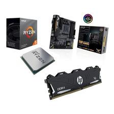 COMBO ACTUALIZ RYZ 5 3600 +TUF B450M-PLUSII + 8GB HP 3200