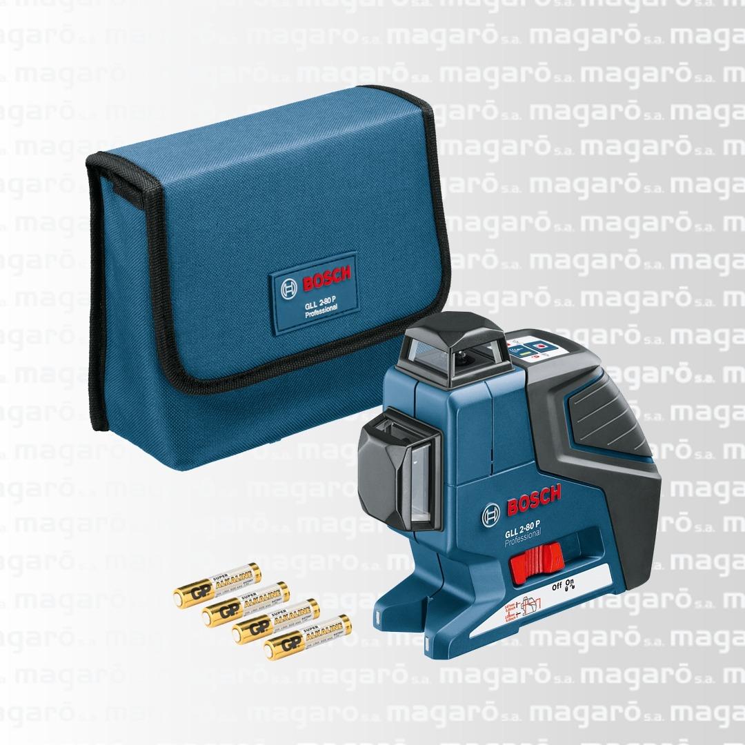 Nivel Laser Gll 2-80 Autonivelante 360º Tripode Bs 150