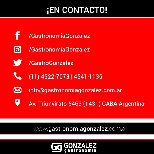 Horno Pizzero 6M Enrique Garcia