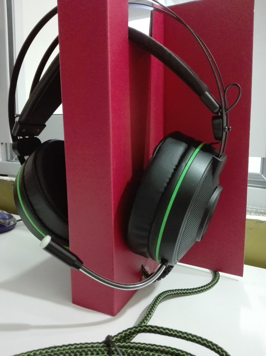 Auricular Gamer 7.1  Microfono Led Verde Bass Vibration Ps4