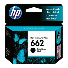 Cartucho Hp 662 Negro Original P/ 1515 2545 3545