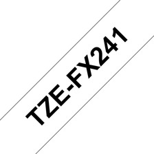 Cinta Laminada Flex Brother Tze-fx241 18 Mm