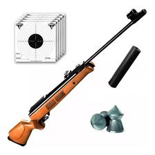 Rifle Aire Comprimido Fox Gr1600 Nitro Piston Caza Cuotas