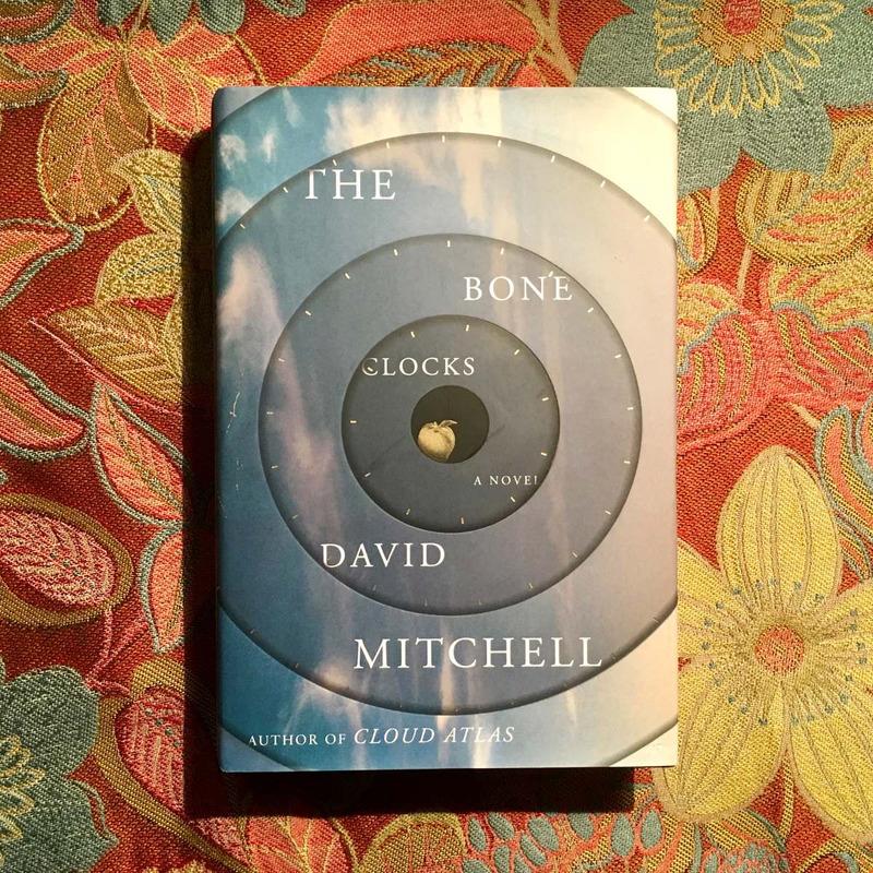 David Mitchell.  THE BONE CLOCKS.