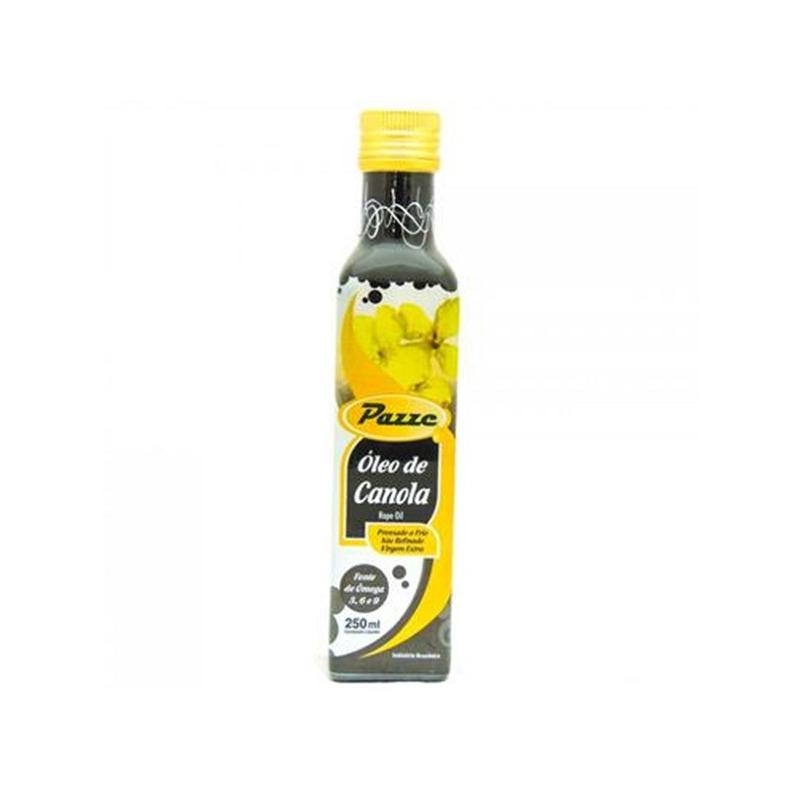 Oleo de Canola Extra Virgem 250ml - Pazze