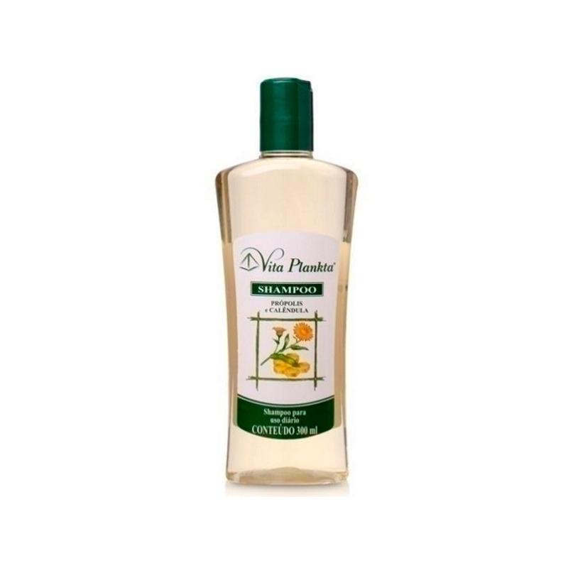 Shampoo com Extratos de Propolis e Calendula - 300ml Vitalab