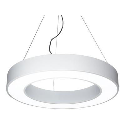 Colgante 48w Yasas Blanco Con Led Integrado Deco Moderno Lk
