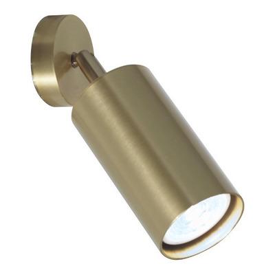 Aplique 1 Luz Finetsa Bronce Moderno Apto Led Luz Desing Lk