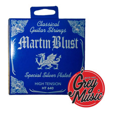 Encordado Martin Blust Ht640 Guitarra Clásica High Tension