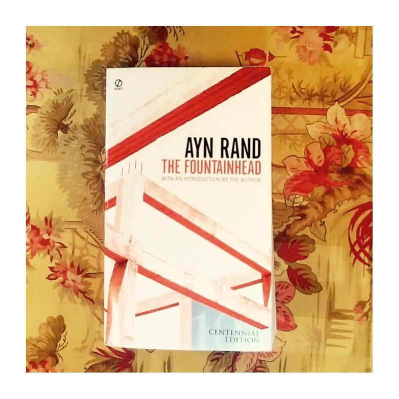 Ayn Rand.  THE FOUNTAINHEAD.