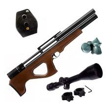 Rifle Aire Comprimido Fox Pcp P15 Regu + Mira 4x40 Cargador