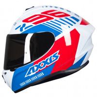 Capacete Axxis Draken Z96 Gloss Branco Azul