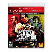 Red Dead Redemption Goty Edition Ps3 Fisico Sellado Original