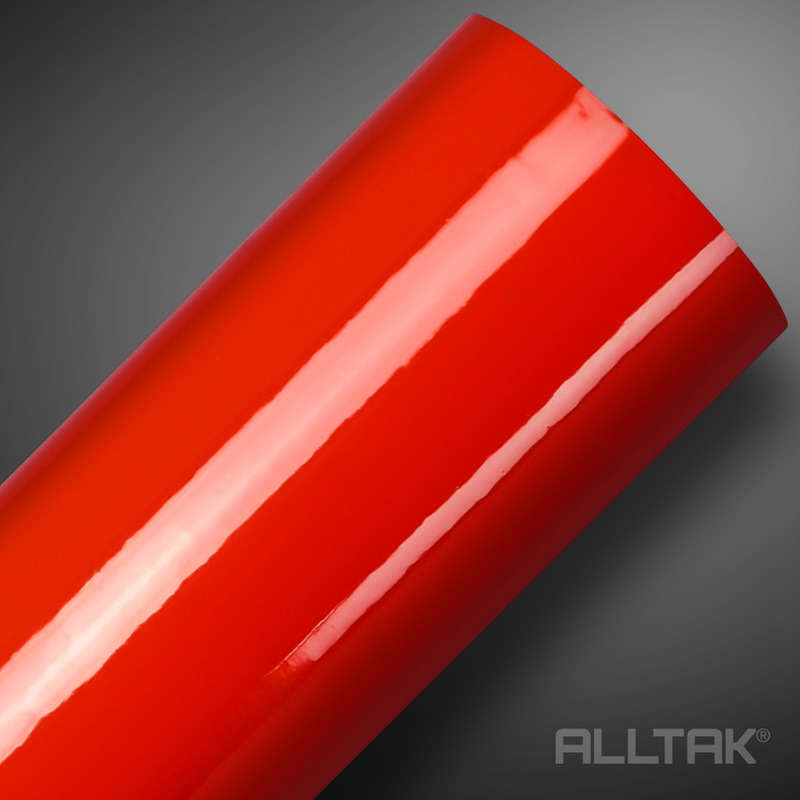 Adesivo brilho ultra para envelopamento automotivo vermelho ultra spicy red larg.1,38 m