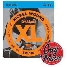 Encordado Daddario Exl110 010-46 Para Guitarra Electrica