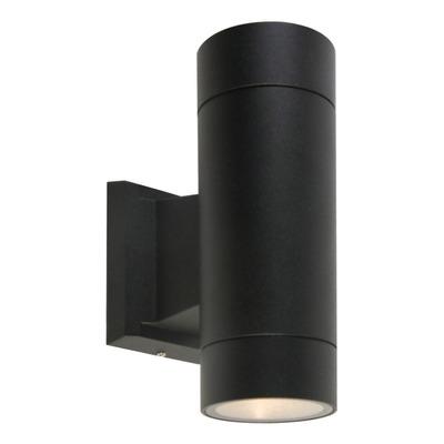 Bidireccional Aluminio Negro Cilindro Gu10 K1402 Mks