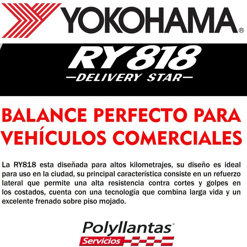 205-75 R16 110-108R Delivery Star Ry818 Yokohama