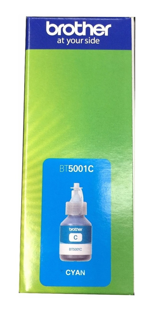 Tinta Brother Bt5001c Original Para Dcp T300 Dcp T500w