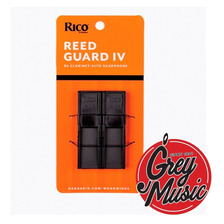 Porta Cañas Rico Saxo  Alto Clarinete Para 4 Cañas Rgrd4ascl