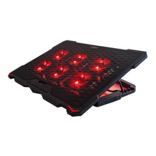Base Para Notebook 6 Coolers Rojos 13 A 17 Pulgadas Noga Net