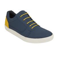 Sneakers rojos textura azul 018866