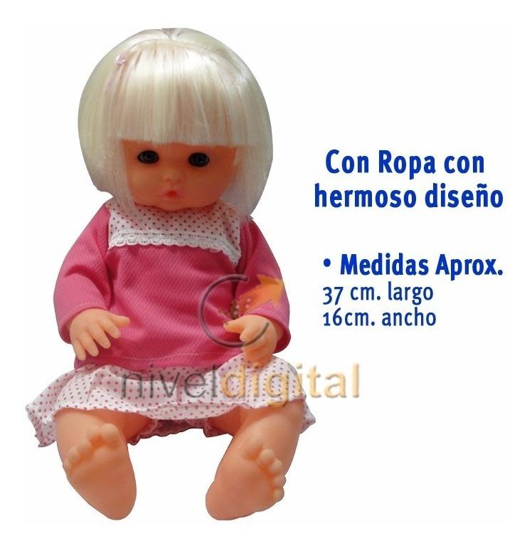 Muñeca Camila Rubia Con Ropa Articulada Abre Cierra Ojos