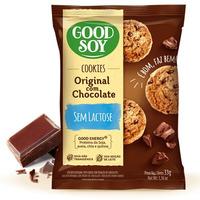 Cookies Integrais de Soja com Gotas de Choc. 2X16g GoodSoy