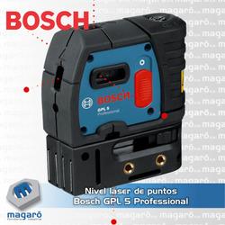 Nivel láser de puntos Bosch GP...