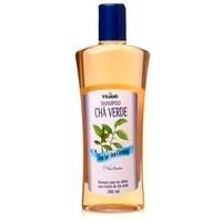 Shampoo com Extrato de Cha Verde Sem Sal - 300ml Vitalab