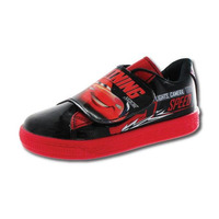 Sneakers Cars rojo y negro T06016