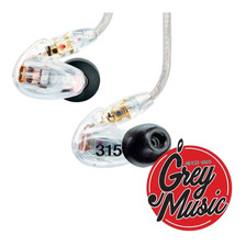 Auriculares Intraurales Shure Se315cl In-ears 22hz A 18.5khz
