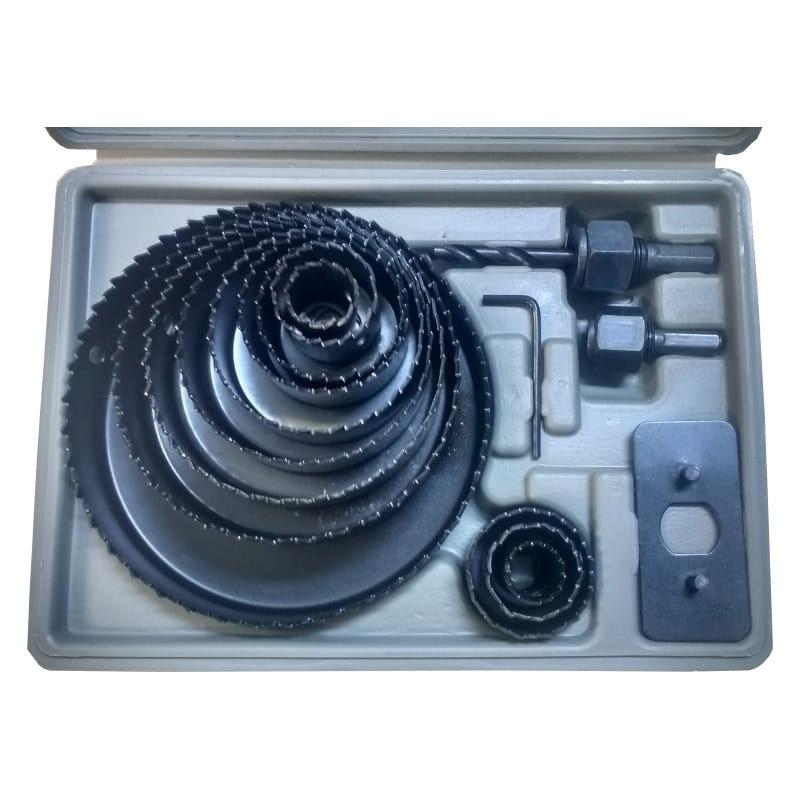 FURADEIRA DE BANCADA 500W 16MM G2321/BR1 110V + KIT BROCA + KIT SERRAS COPO + PAQUIMETRO DIGITAL