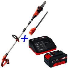 Cortacerco Podador Altura Multiuso Einhell + Kit Bateria 3a
