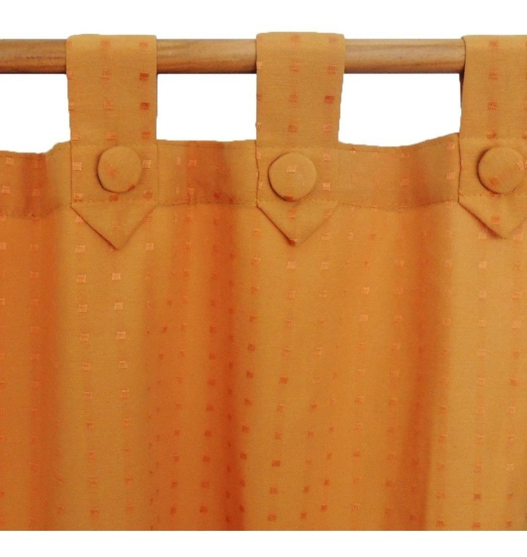 Set Cort Pesada + Voile Largas 140 X 210 ( 2 Unidades)