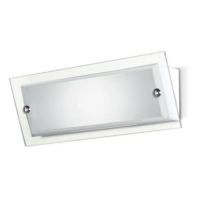 Aplique Moderno Baño Led 12w Calido Con Vidrio Gam 3115