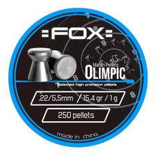 Balines Fox Olympic X250 5.5- Aire Comprimido Co2 Y Pcp