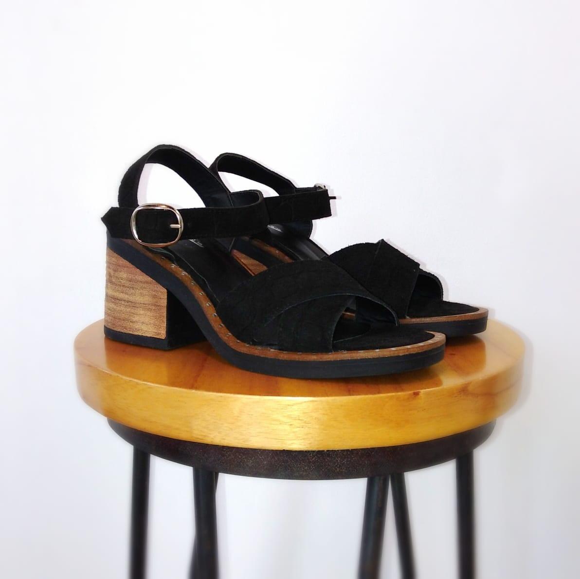 Sandalia Dacil Negro