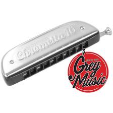 Armonica Hohner M25301 Chrometta 10 40 Voces - Grey Music