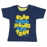 Camiseta Bebê Clap Your Hands Puramania