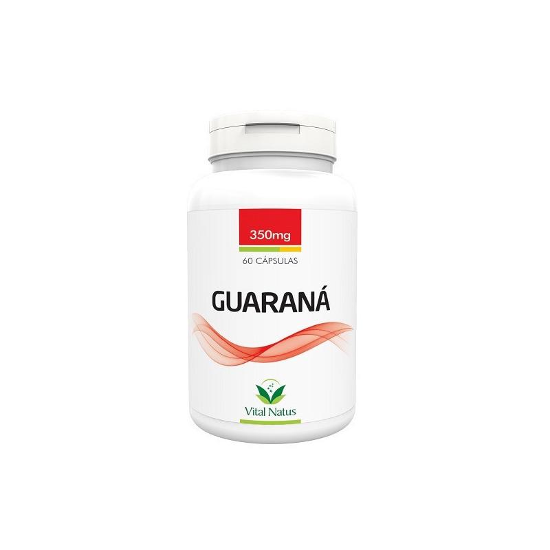 Guarana - 60 capsulas 350mg - Vital Natus