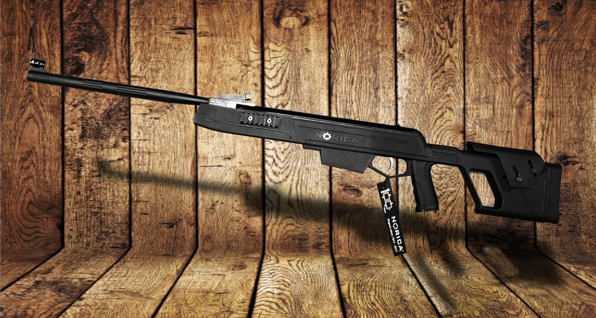 Rifle Aire Comprimido Apolo 1000 Nitro Piston Tactico Caza