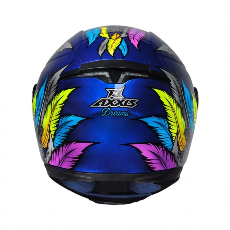 Capacete Axxis Eagle Dreams Azul e Cinza