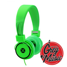 Auricualres Moki Acc Hphyg Hyper Headphone - Green