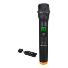 Microfono Inalambrico A Usb Karaoke 50 Mts De Alcance Kolke