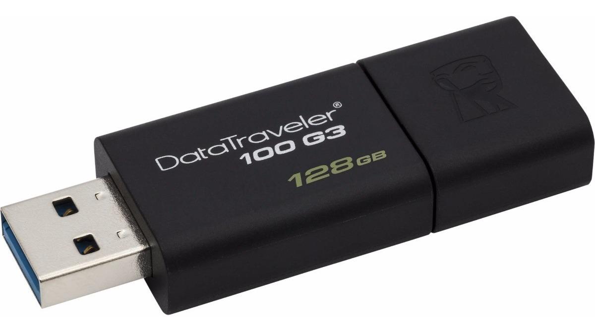 Pen Drive Kingston Dt 128gb Usb 3.0 Veloz Blister Original