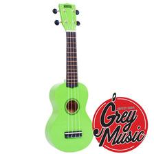 Ukelele Soprano Mahalo Mr1gn Verde C/ Funda  - Grey Music