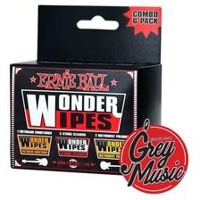 Mix Paño Limpiador Ernie Ball Wonderwipe Mult Pack 4279